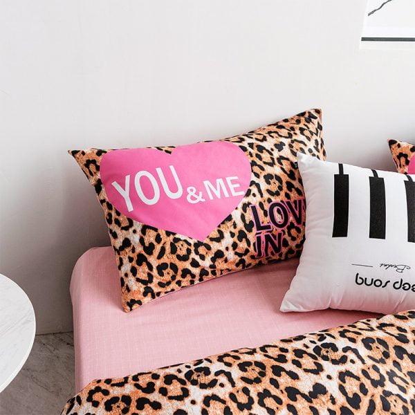 Pink by Victoria Secrets Queen Bedding Set 4