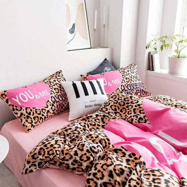 Pink by Victoria Secrets Queen Bedding Set 5