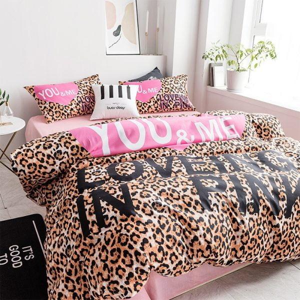 Pink by Victoria Secrets Queen Bedding Set 7