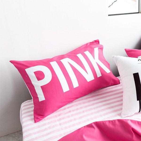 Victoria Secret Pink Comforter Set Queen Size 6