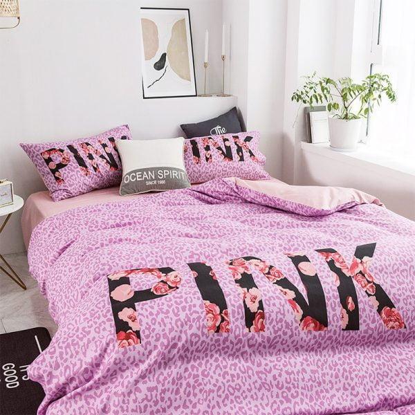 Victoria Secret Pink Modern Bedding Set 3