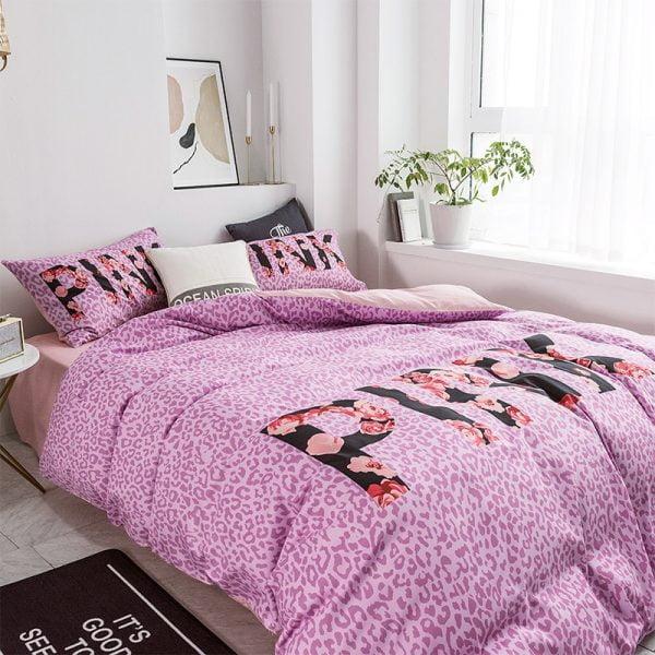 Victoria Secret Pink Modern Bedding Set 7