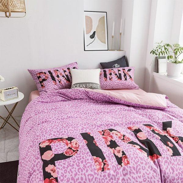 Victoria Secret Pink Modern Bedding Set 8