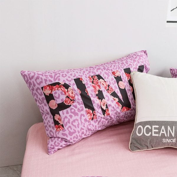 Victoria Secret Pink Modern Bedding Set 9