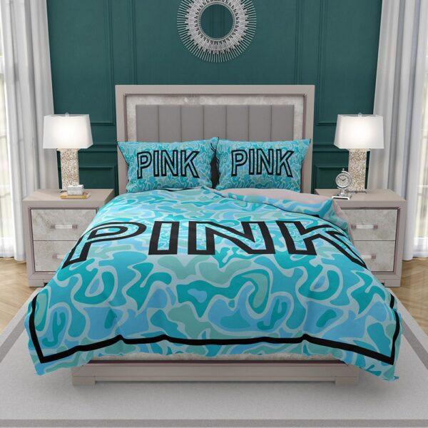 Victoria's Secret Pink Leoperd Pattern Print bedroom décor Bedding Set
