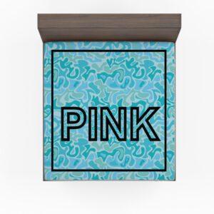 Victoria's Secret Pink Leoperd Pattern Print bedroom décor Bedding Fitted Sheet
