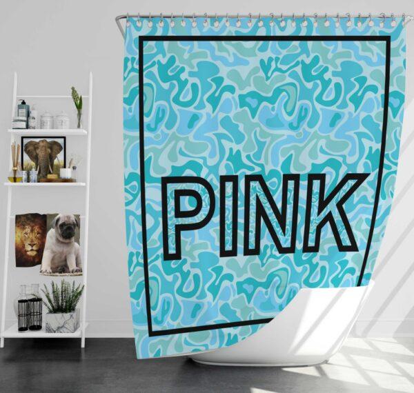 Victoria's Secret Pink Leoperd Pattern Print bedroom décor Shower Curtain