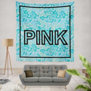 Victoria's Secret Pink Leoperd Pattern Print bedroom décor Wall Hanging Tapestry